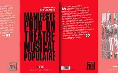 Manifeste pour un théâtre musicel populaire | Jonathan Kerr et Jean-Luc Annaix - Collection Coup de Gueule