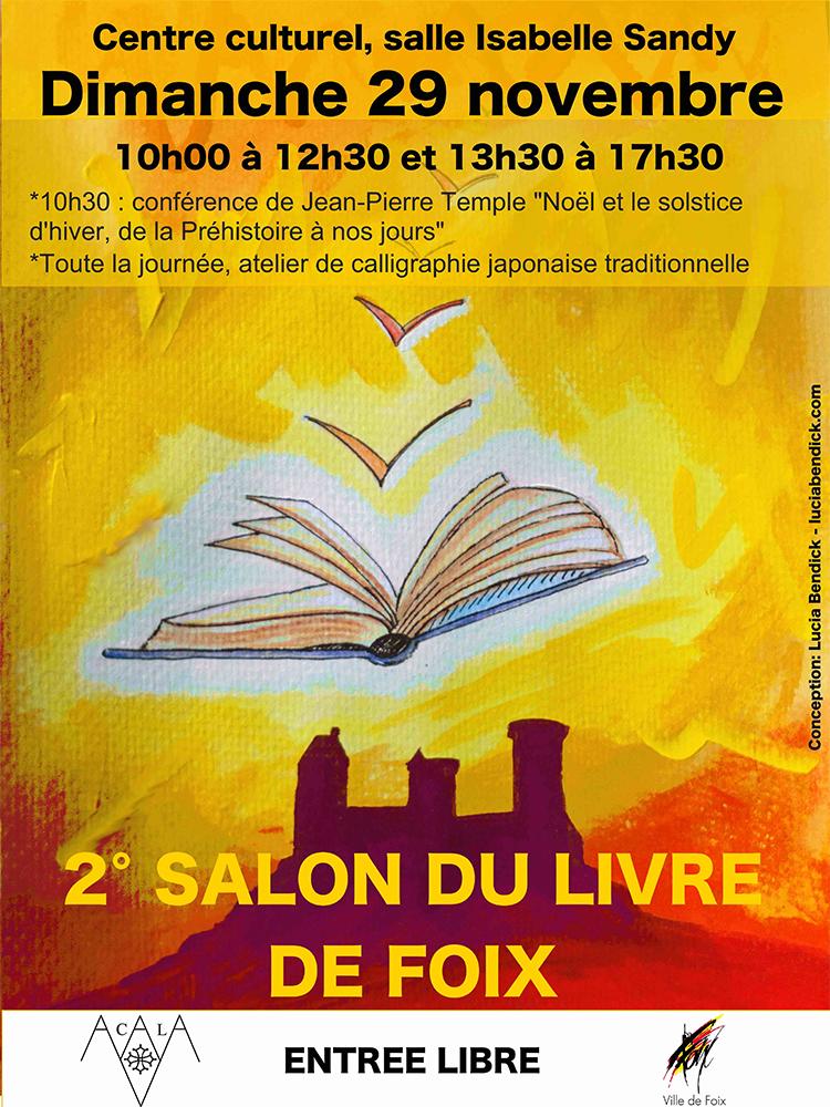 Salon du livre de Foix 2015
