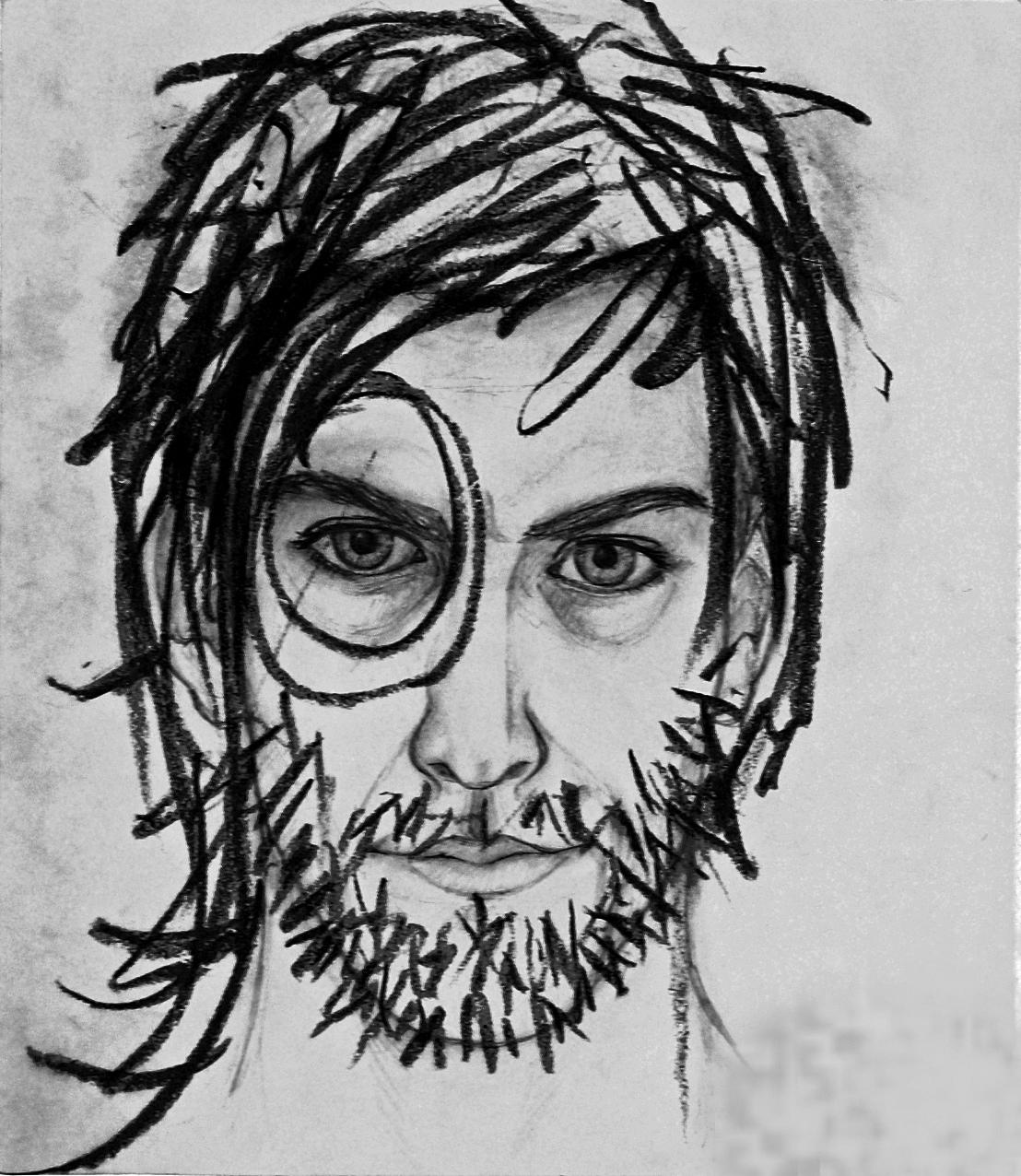Géraud Mordin - Autoportrait